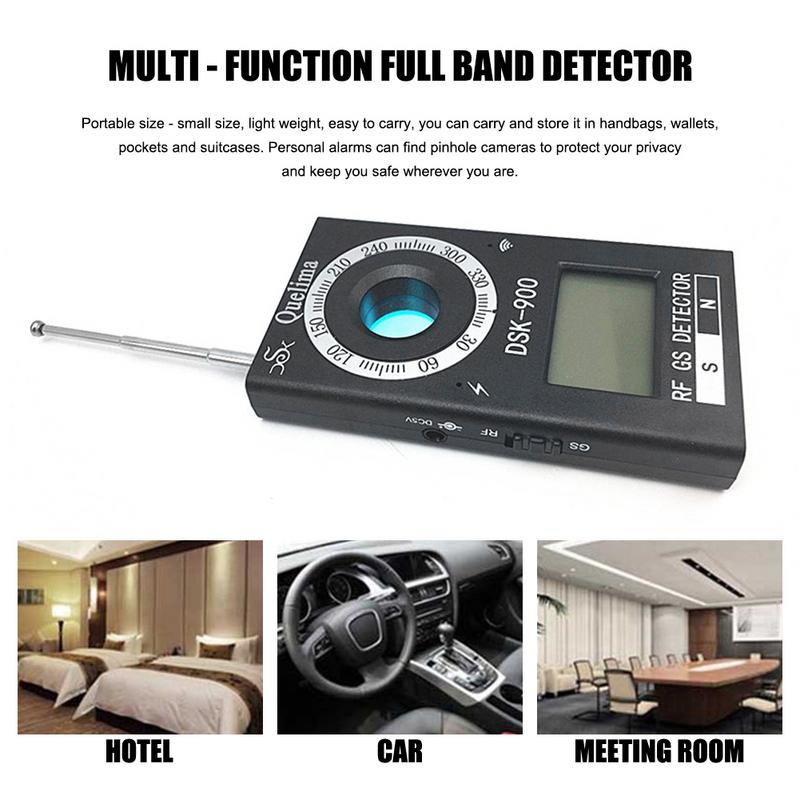 For Quelima Multi-Function Signal Shielding Full Band Detector Signal Blocker DSK-900 Mini Detector Finder Mini Detector
