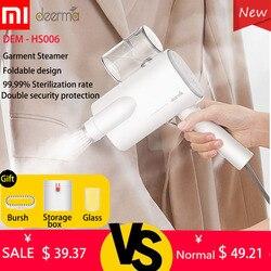 Xiaomi Deerma Dem-DEM-HS006 Pieghevole Indumento Palmare Piroscafo Ferro Da Stiro A Vapore Per Uso Domestico Portatile Piccolo Vestiti Rughe Sterilizzazione