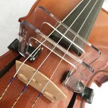 Cristal 4/4 violín arco Corrector herramienta guía enderezar colimador para principiantes entrenamiento práctica instrumentos musicales Accesorios