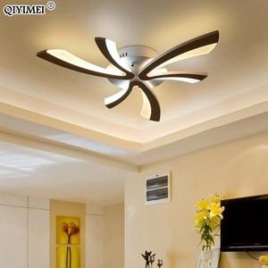Image 4 - الاكريليك سقف ليد حديث أضواء لغرفة المعيشة غرفة نوم الطعام المنزل داخلي مصباح تركيبات الإضاءة AC85 260V لوميناريا Lampada