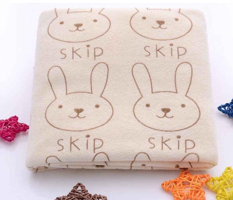 Для новорожденных, младенцев, детей ясельного возраста мягкие фланелевые полотенца с рисунком героев из мультфильмов с изображением кролика; одеяло; Банное полотенце 3 цвета
