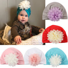 Toddler Newborn Baby Girl Kids Daisy Flower Skull Beanies Hat Caps Infant Kids Girl Baby Lace Princess Headdress Hats Caps Cover(China)