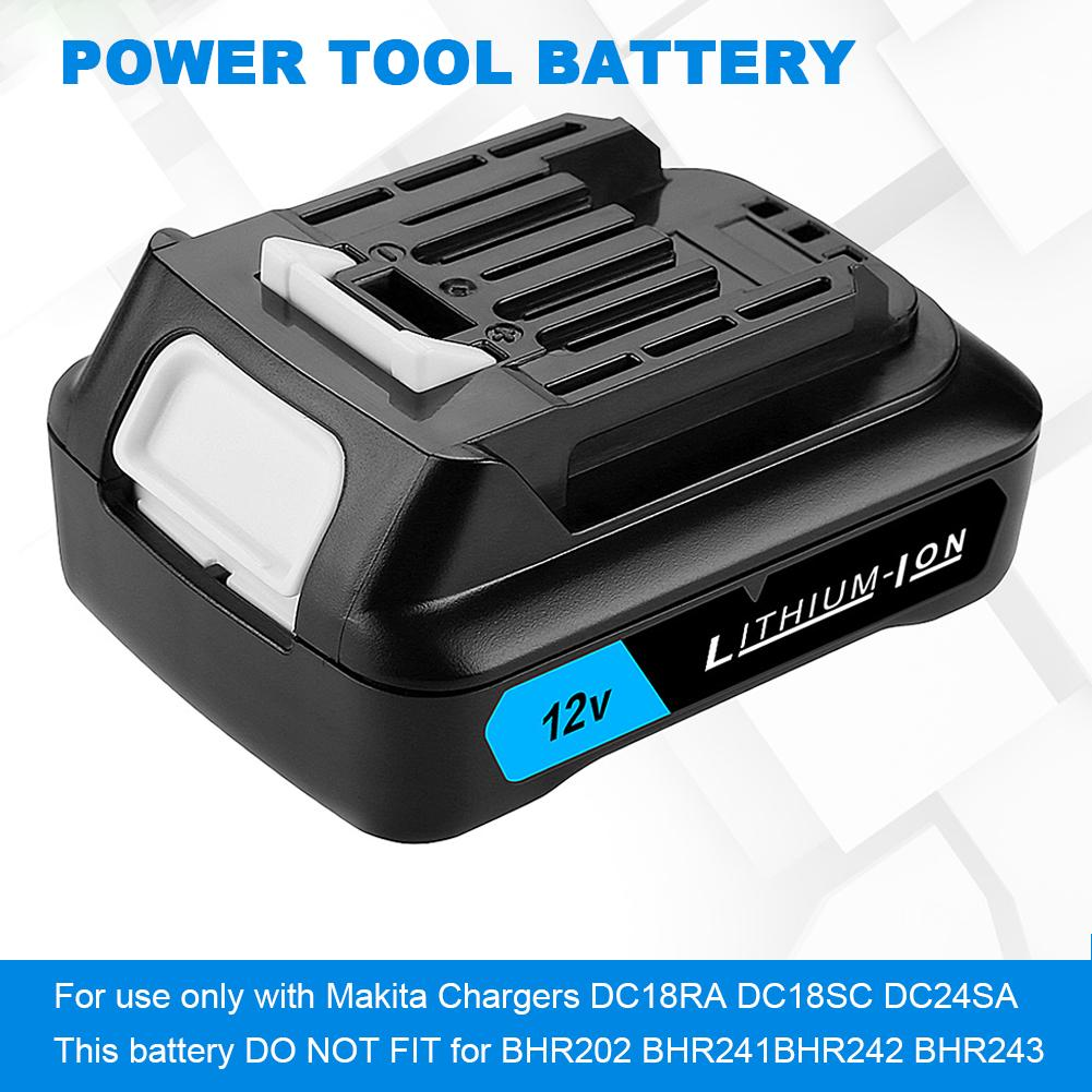 For Makita <font><b>12V</b></font> <font><b>1.5Ah</b></font> 5.0Ah Lithium Battery Power Tool Battery image