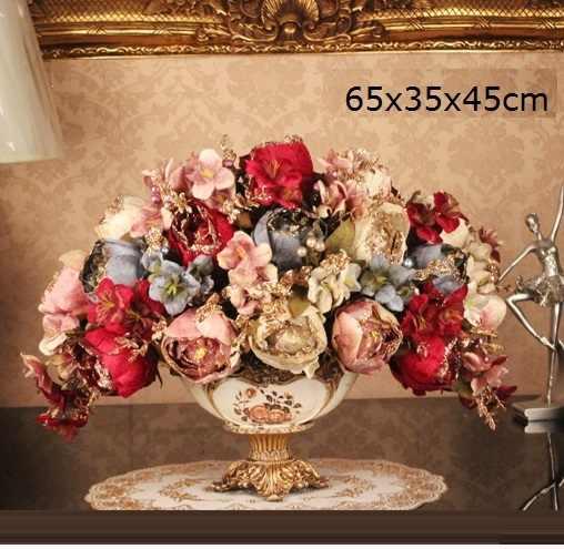 Kwiaty Dekorasyon Ev Vazo Jarron accessoires De décoration De la maison moderne Jarrones décorativos moderne Vase à fleurs Vaso De Flor