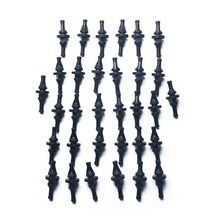 32 PCS Rubber Anti Vibration Mount Screw Pin Rivet,for PC Case Fans Anti Vibration