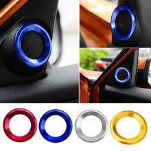 Декоративные круглые планки для 10го поколения Honda Civic a-столб автомобильные дверные аудио кольца динамиков планки для Honda Civic