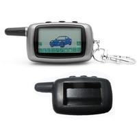 Russland Version Fall Keychain Für Starline A9 LCD Remote 2 Weise Zwei Weg Auto Alarm System + silikon fall-in Alarmanlage aus Kraftfahrzeuge und Motorräder bei