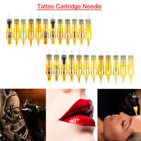 10 pièces révolution tatouage aiguille sourcil aiguille permanente maquillage cartouche aiguilles tatouage stylo 20 Styles pour tatouage Machine Kit