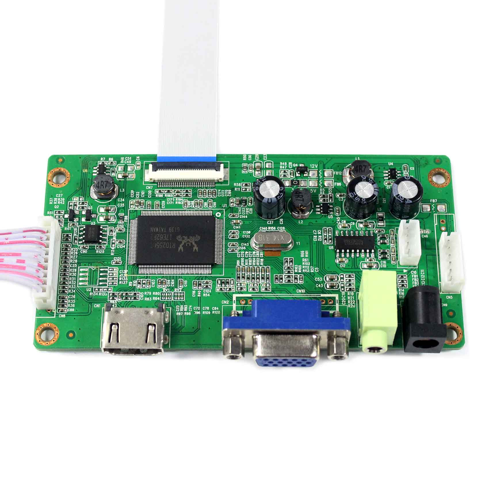 "HDMI VGA LCD Controller Board For 11.6"" 13.3"" 14"" 15.6"" N116BGE-EA2  B133XTN01.2 B140XTN02.1 B156XTN04.0 1366x768 EDP LCD Screen"