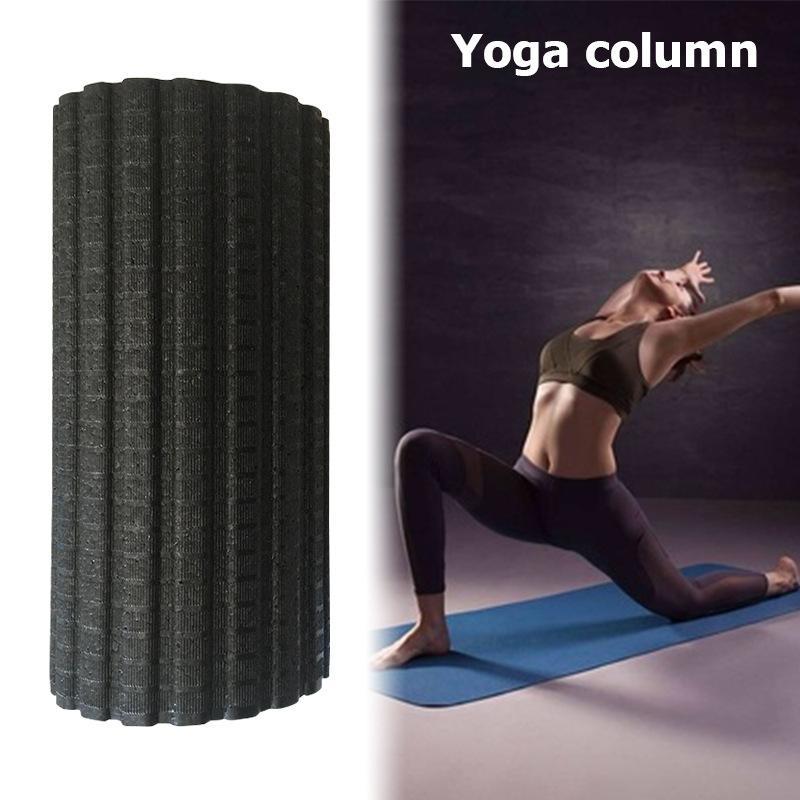 MUMIAN Yoga Fitness colonne électrique Vibration rouleau de Massage mousse Pilates bloc réglable masseur soulager la Fatigue musculaire - 2