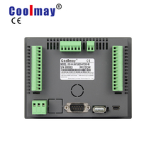 цена на Coolmay EX3G-43HB-24MT-485P 4.3 inch 12di 12do transistor output rs485 rs232 industrial all in one plc touchscreen