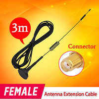 FEMALE Wifi Antenna Extension Cable 3 Meters to Work with Wireless Cameras