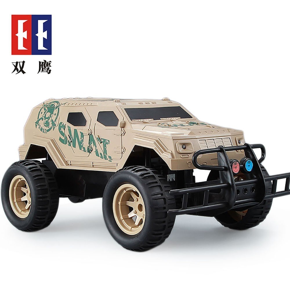 Special Police Bigfoot Car 2.4GHz 8km/h Remote Control Model Off Road Vehicle Toys For Boys Kids Off road Children Toy Gift