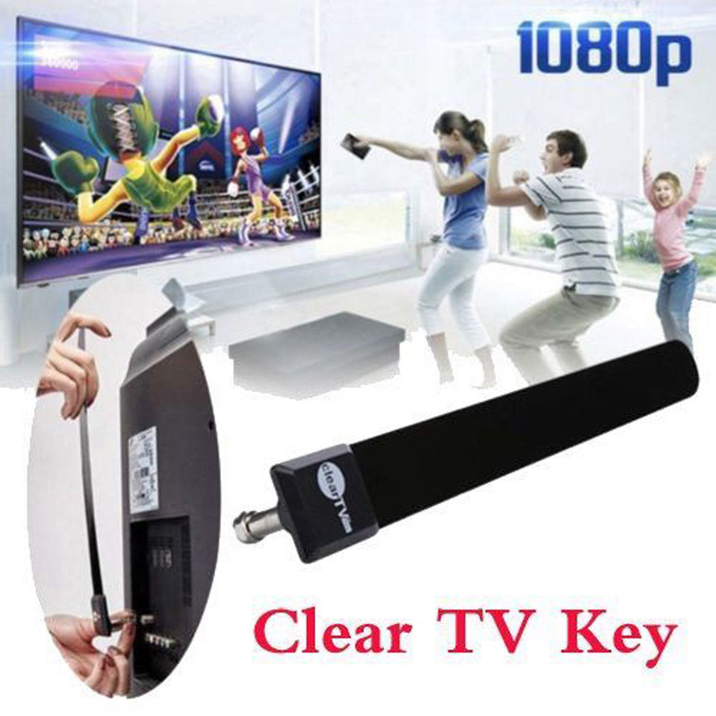 1080p Clear TV Key HDTV 100 FREE HD TV Digital Indoor Antenna Ditch Cable US