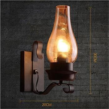 Decoración Industrial Luminaria Mural Interior Aplique Lámpara Candeeiro De Pared Luminaria Wandlamp Para Hogar Pared Dormitorio Luz