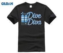 GILDAN Dive Diva Diver Princess Underwater Ocean Lover Cute T-Shirt