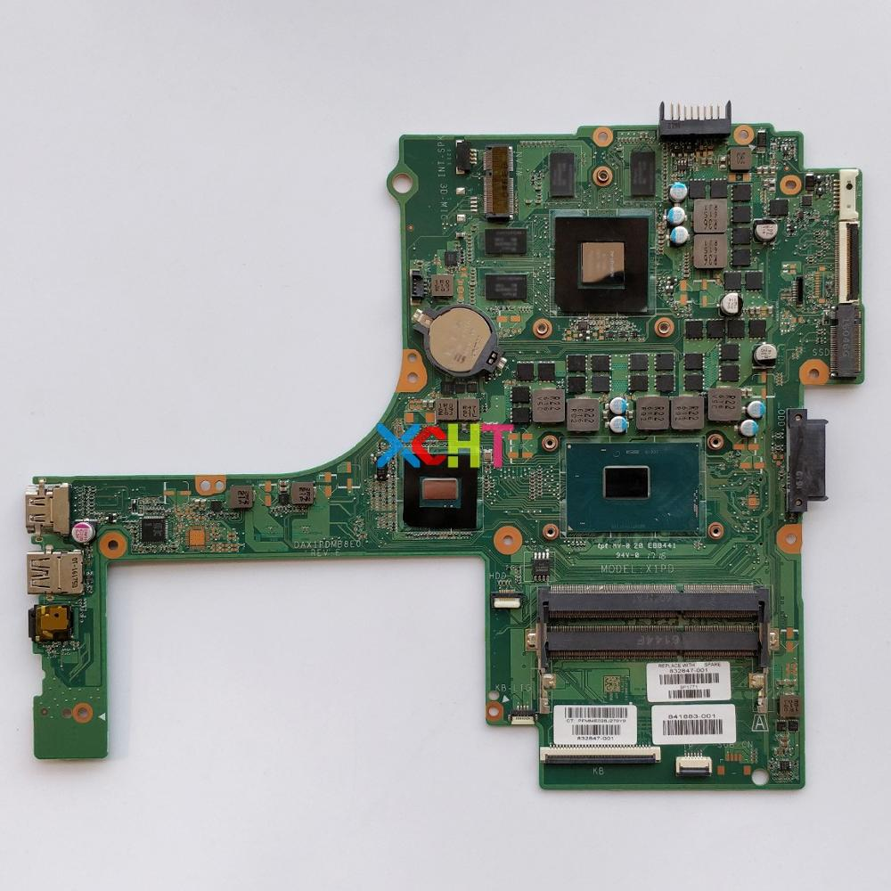 832847-001 832847-601 DAX1PDMB8E0 w 950M/4GB i5-6300HQ for HP Pavilion Gaming Notebook 15-ak Series PC Laptop Motherboard