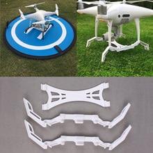 Plastic Landing Gear White Extending Stabilizer Drone Accessories Gimbal Camera Guard Parts For DJI Phantom 4 Pro Landing Gear