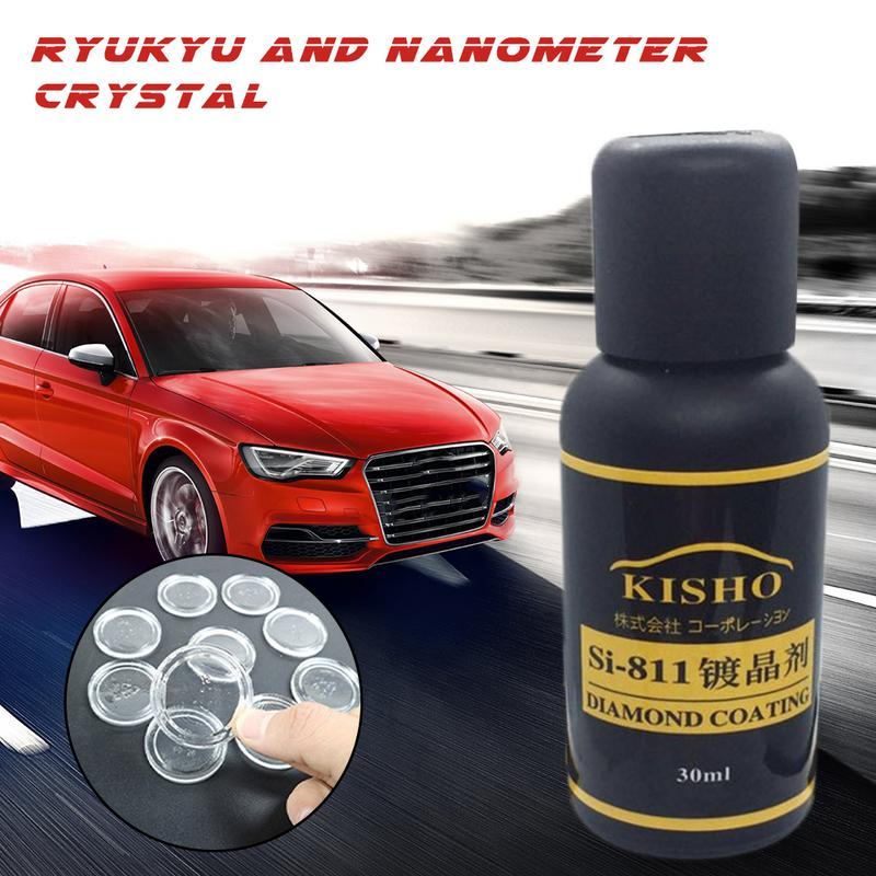 KISHO Si-811 Twin Crystal Nanocrystalline Hydrophobic Sealant Super Hydrophobic Coating Ryukyu Nanometer Crystal Plating Liquid