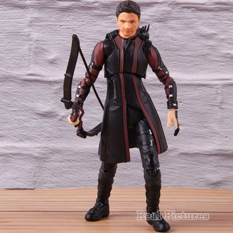 SHF S.H.F Figuarts Hawkeye Age Of Ultron Action Model Toy Marvel Avengers PVC Collectible Super Hero Figure 14.5cm image
