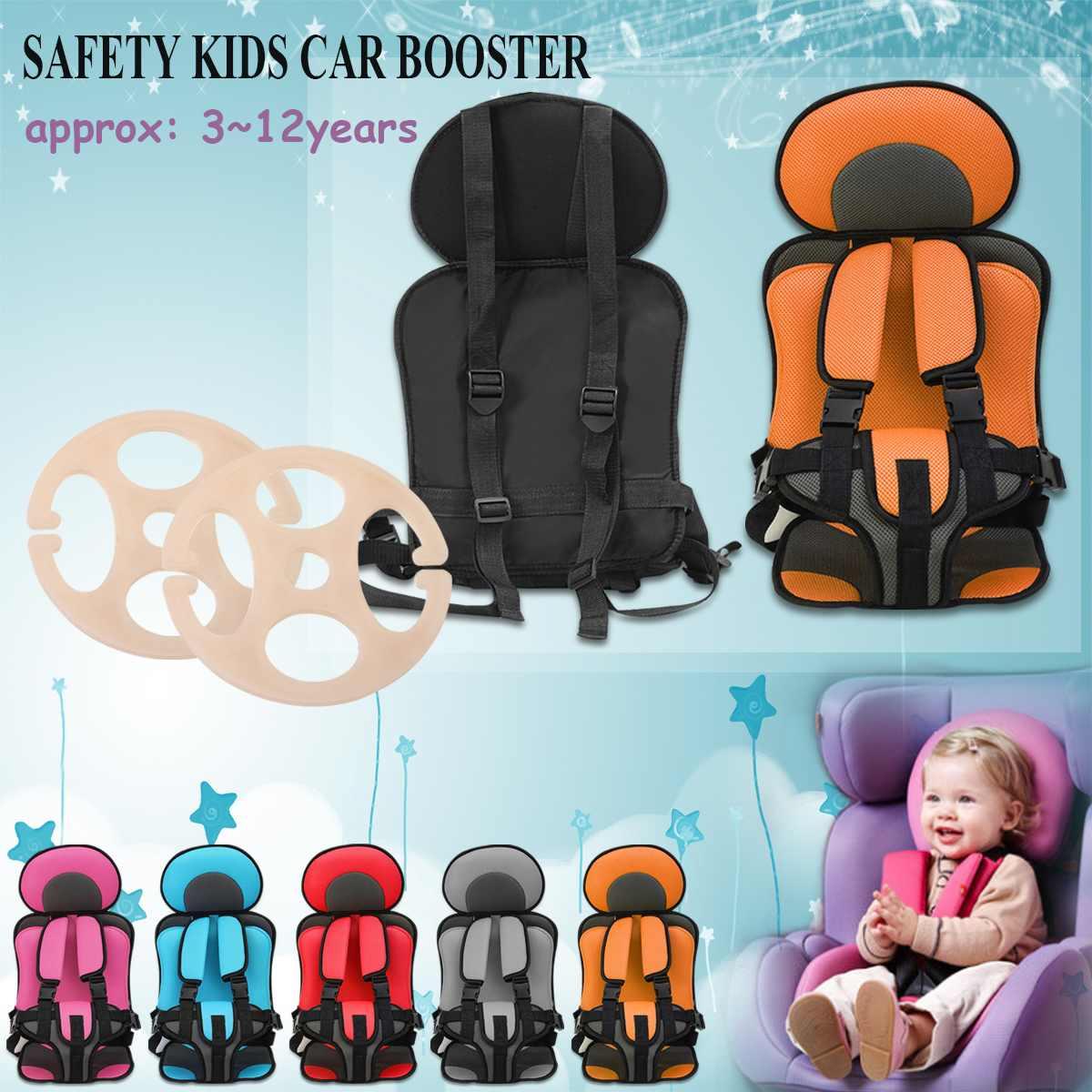 3 ~ 12 jahre alten kinder Sicheren Sitz Tragbare Baby Sicherheit Sitz kinder Stühle Aktualisiert Version Verdickung Schwamm Kinder kind Auto Sitze