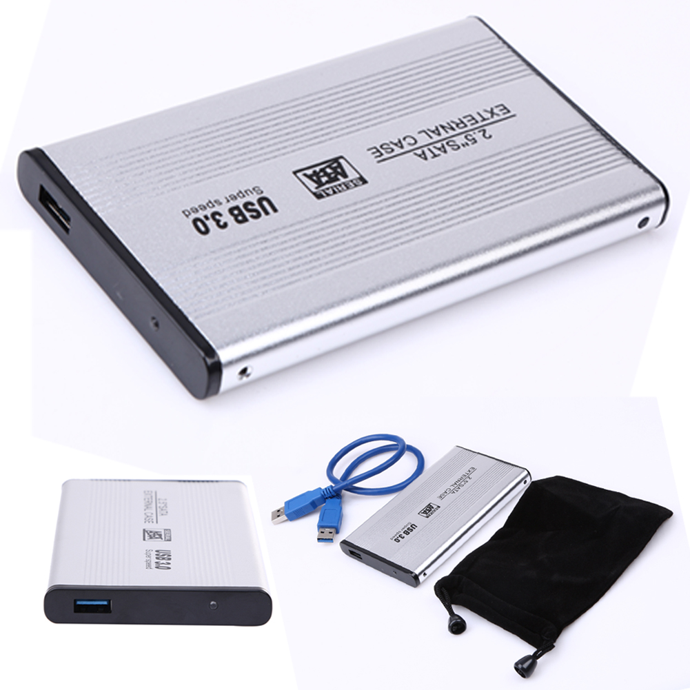 USB 3.0 2.5 SATA Hard Drive External Case 5 Gbps Plug & Play USB3.0 SATA Case