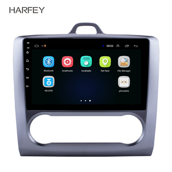 """Harfey 2 DIN 9"""" Android 8.1 GPS Navigation Touchscreen Quad-core Car Radio For 2004 2005 2006-2011 Ford Focus Exi AT bluetooth"""