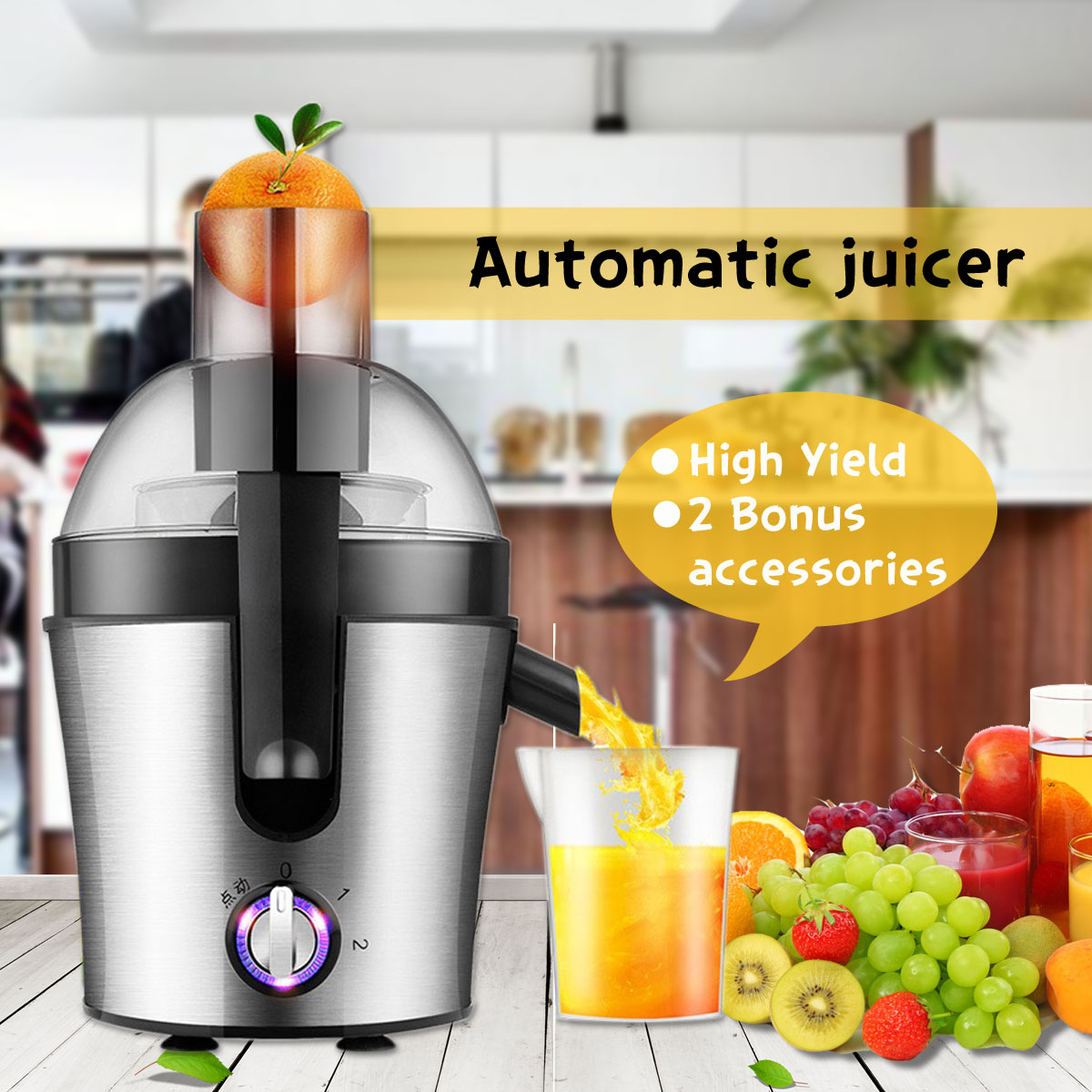 Warmtoo 220V 300W Stainless Steel Juicer Fruit Vegetable Processor Extractor Mixer High Power Fruit Food Processor Ice SmoothieWarmtoo 220V 300W Stainless Steel Juicer Fruit Vegetable Processor Extractor Mixer High Power Fruit Food Processor Ice Smoothie