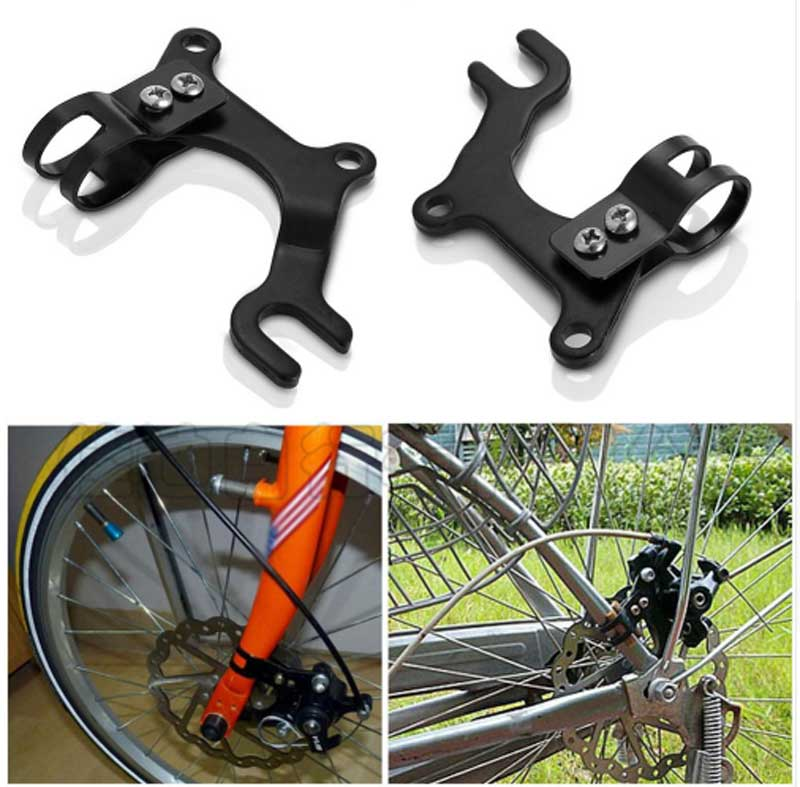 Adjustable Bicycle Bike Disc Brake Bracket Frame Adaptor Cycling Mounting Holder Good Quality