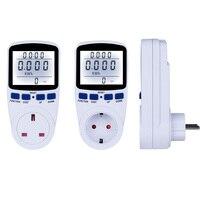 Digital Energy Meter Wattmeter With Backlight 220V Electronic Power Meter Record Volt Voltage Outlet Socket Meter EU/US/UK Plug