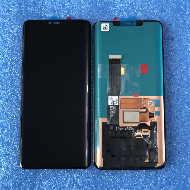 Original With Fingerprint For Huawei Mate 20 Pro Axisinternational AMOLED LCD Display+Touch Digitizer For Mate 20 Pro 8GB 256GB-in Mobile Phone LCD Screens from Cellphones & Telecommunications    1