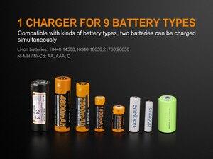 Image 4 - Fenix ARE A2 18650 3,7 v cargador de batería recargable + 12v DC