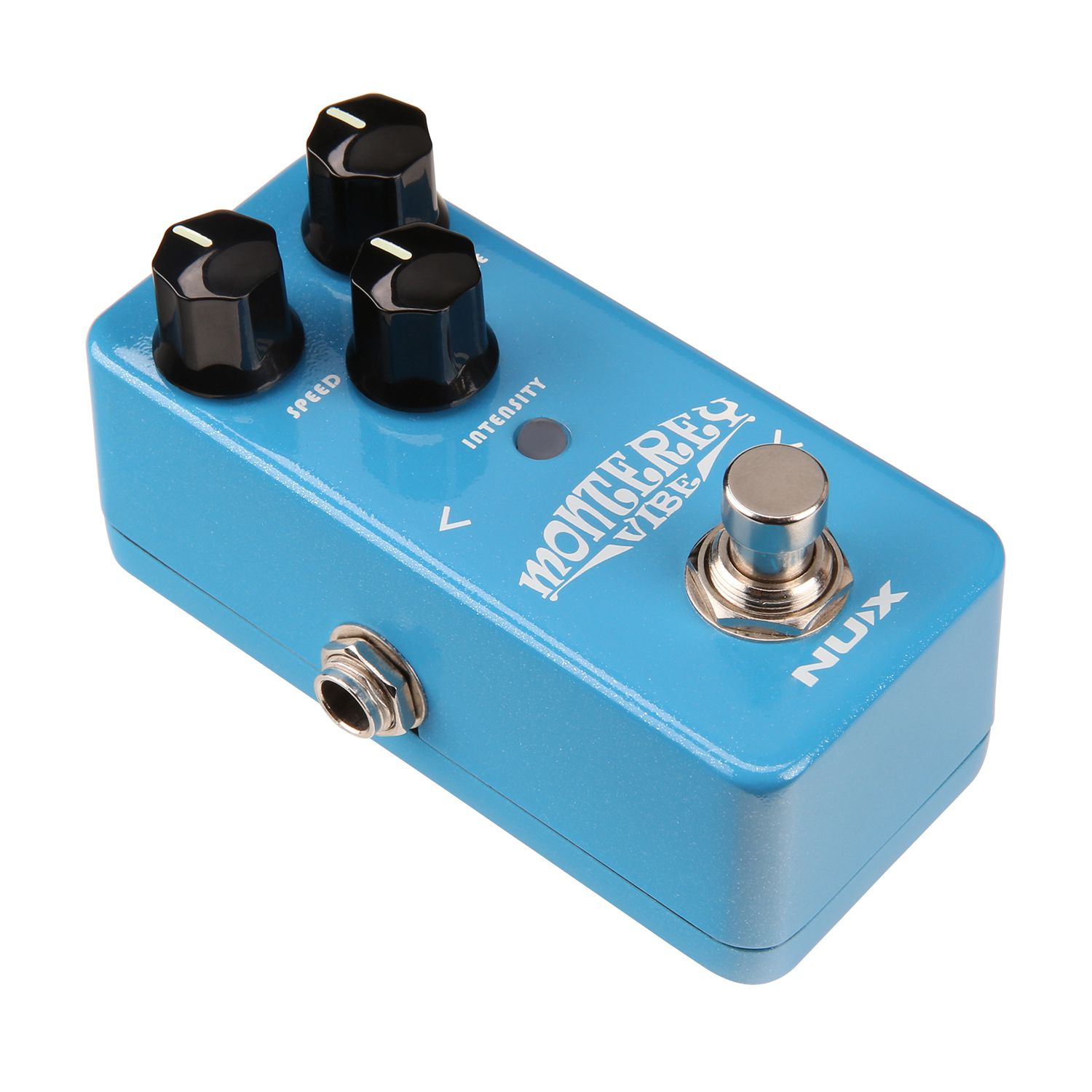 New Nux Monterey Vibe Guitar Effects Pedal Vibrato Guitarra Vibe pedal Analog Sound with Upgraded Hardware