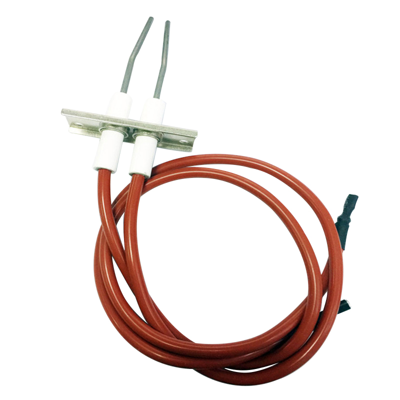 Kitchen Equipment catering gas stove Double Ignition electrode High spark igniter wire length 450mmKitchen Equipment catering gas stove Double Ignition electrode High spark igniter wire length 450mm