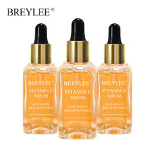 Breylee Vitamin C Whitening Serum Face Facial Brighten Skin Care Fade Dark Spots Freckle Anti-aging Anti Melanin 3pcs