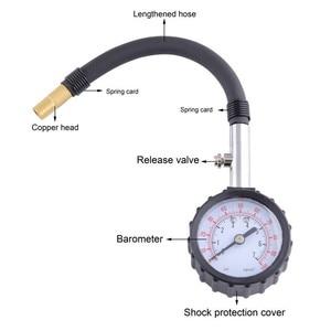 Image 2 - SPEEDWOW 긴 튜브 자동차 타이어 타이어 공기 압력 게이지 미터 자동차 테스터 모니터링 시스템 자동차 자전거 모터