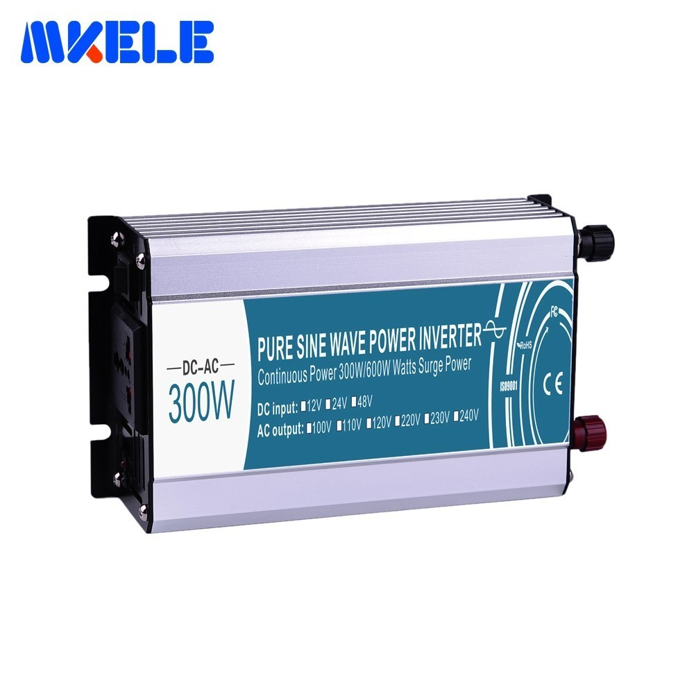 DC/AC Elektrische Power <font><b>Inverter</b></font> 12/24/48 V Zu 110/220 V 300 W Kleine <font><b>watte</b></font> Off Grid Reine Sinus Power <font><b>Inverter</b></font> Verwendet In Auto image