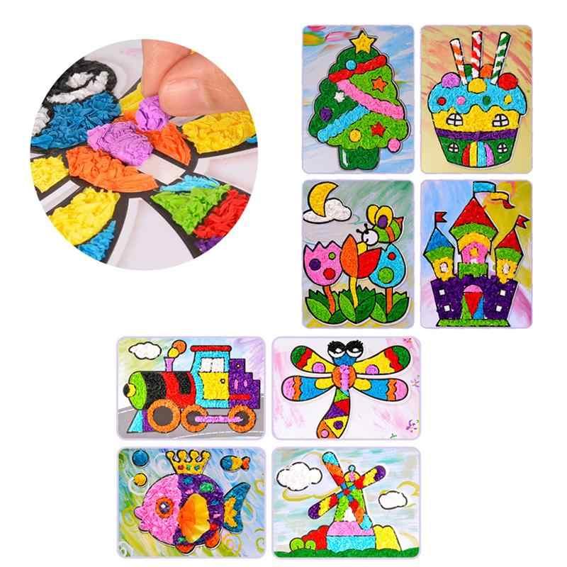 1 Набор наклеек для рукоделия, Креативные 3D стикеры для рукоделия, аксессуары для девочек, рукоделия, рукоделия
