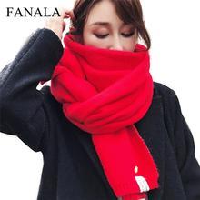 294b80145d6f Chaud D hiver Écharpe Hijab Foulards pour femmes Châle foulard De Soie Écharpe  femmes Stole