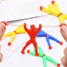 50 Pcs Birthday Vent Novel Gift Party Favors Supplies Sticky Wall Climbing Kids
