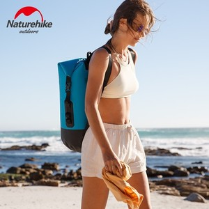 Image 2 - Naturehike 20L 30L 40L 420D TPU Waterproof River Trekking Bags Dry Pack Bag Dry Wet Separation Waterproof Drift Storage Bag