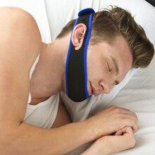 Неопреновый ремень для защиты от храпа и храпа, пояс для подбородка, пояс для защиты от апноэ, поддержка сна, пояс для лечения апноэ, пояс для сна