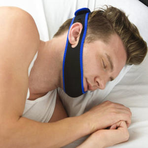 Belt Chin-Strap Stop-Snoring Sleep-Support Anti-Apnea-Jaw-Solution Neoprene New
