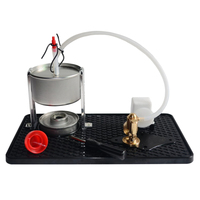 Single Cylinder Steam Engine Kit Model Educational Toy Creative Gift For Children With Boiler Alcohol Lamp And Base For Children