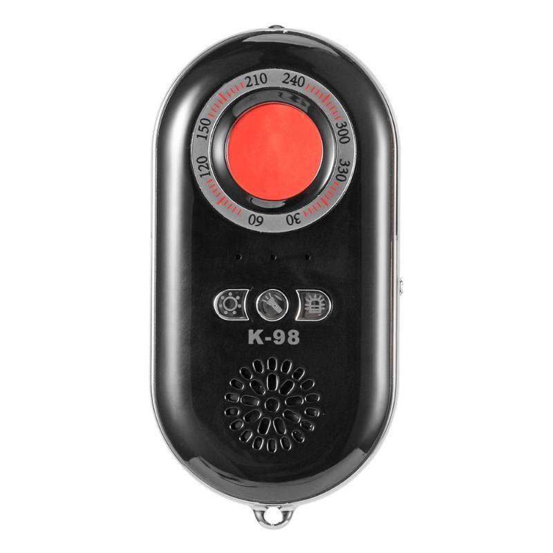 Dropshipping K98 Mini Detector de Sinal Anti Candid Camera Protetor da Privacidade do Chip GPS Locator Localizador Detector de Depuração