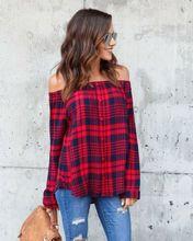 Off Shoulder Oversize Cotton Casual Shirt RK