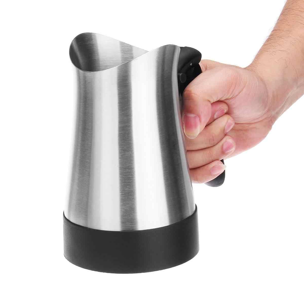 Электрическая Кофеварка Эспрессо Мока из нержавеющей стали, 270 мл, 800 Вт, портативная электрическая кофеварка с складной ручкой