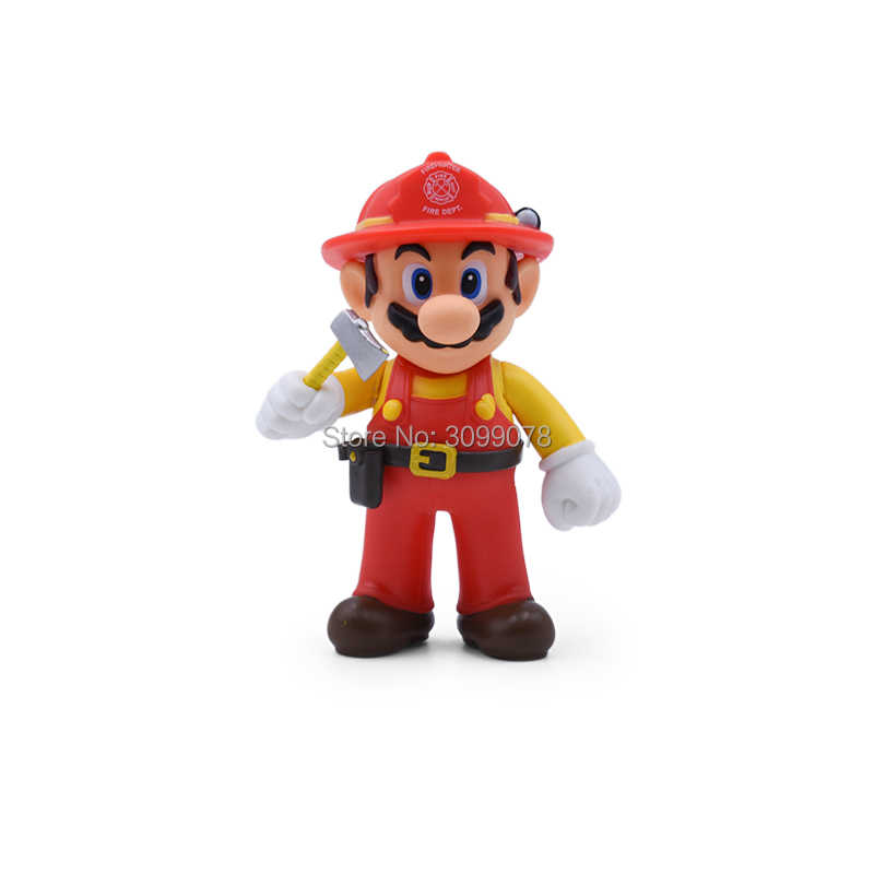 13 см Super Mario Bros Луиджи, Марио, Йоши коопа Йоши Марио производитель Odyssey гриб toadettte ПВХ Фигурки игрушки модельные куклы