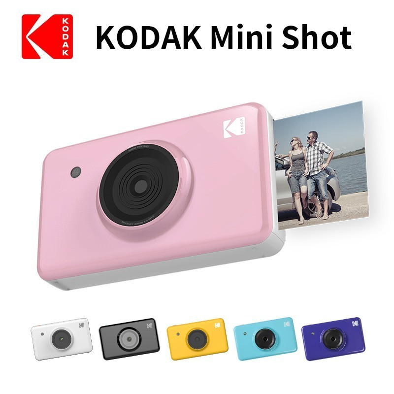 NEW KODAK Mini Shot 2 In 1 Wireless Instant Digital Camera Social Media Portable Photo Printer