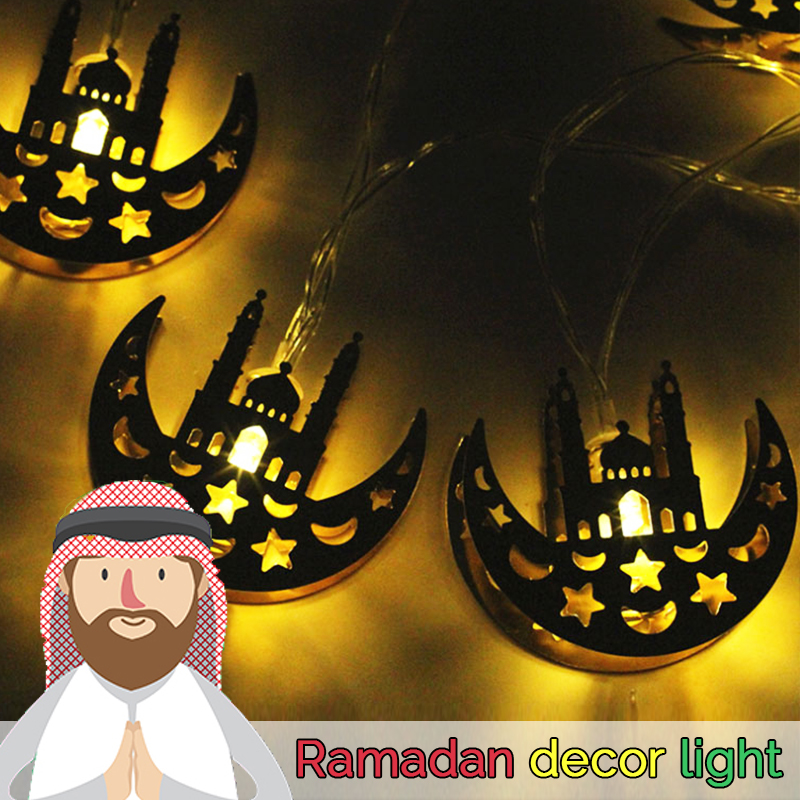 ramadan decorations lights led curtains decoracao bedroom